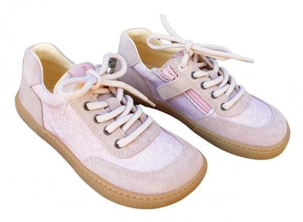 Koel Mädchenschuhe Annik WEIT rosa Sneaker Barfußschuhe
