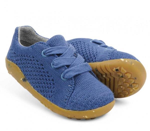 Bobux SEEDLING Sneaker indigo blau Barfußschuhe vegan