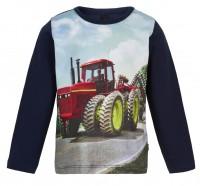Metoo Kinder Traktor T-Shirt Langarm