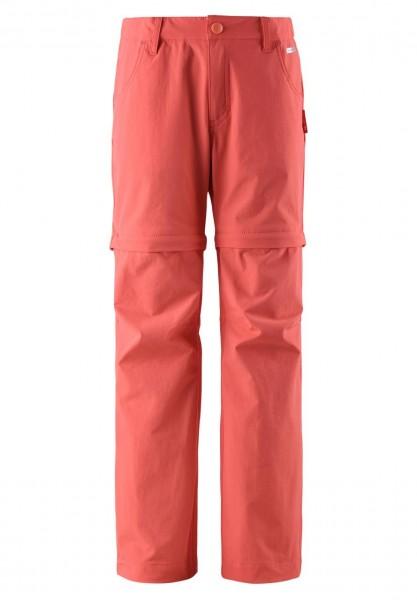 Reima SILTA coral pink Mädchen Outdoorhose Zip-Off mit Anti-Bite Mückenschutz