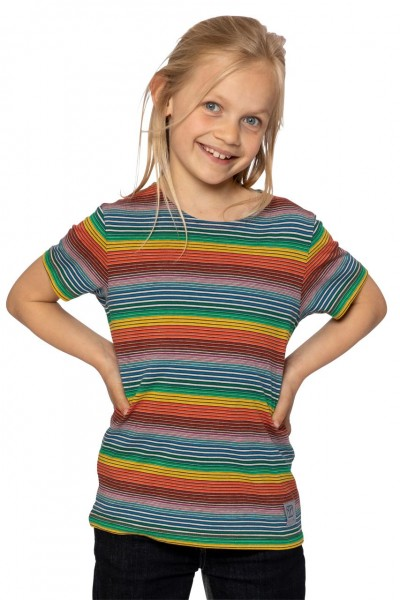 Elkline T-Shirt candystriped multicolor gestreift
