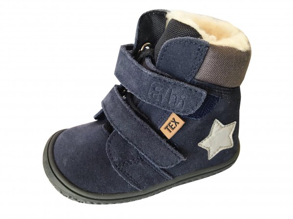 Filii Kinder Winterstiefel Himalaya ocean mit Thermofutter