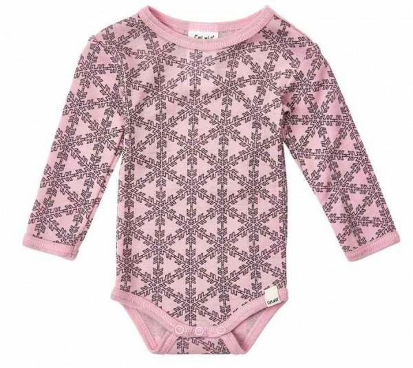 Celavi Body Wolle Schneeflocken smoky rosa