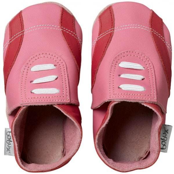 Bobux Super Sporty pink