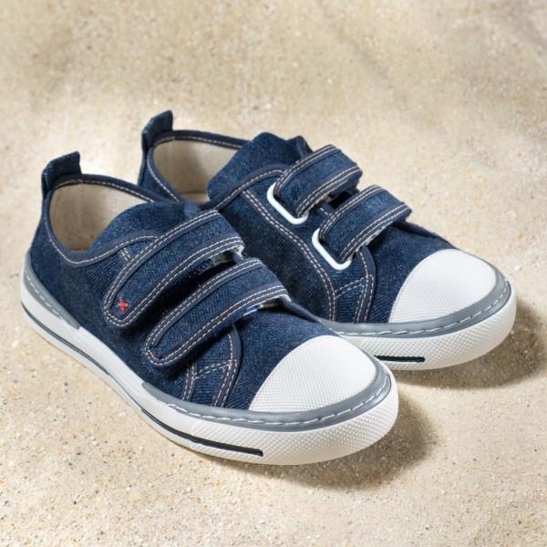 Pololo Sneaker Sol Jeans Kinderschuhe Hanf