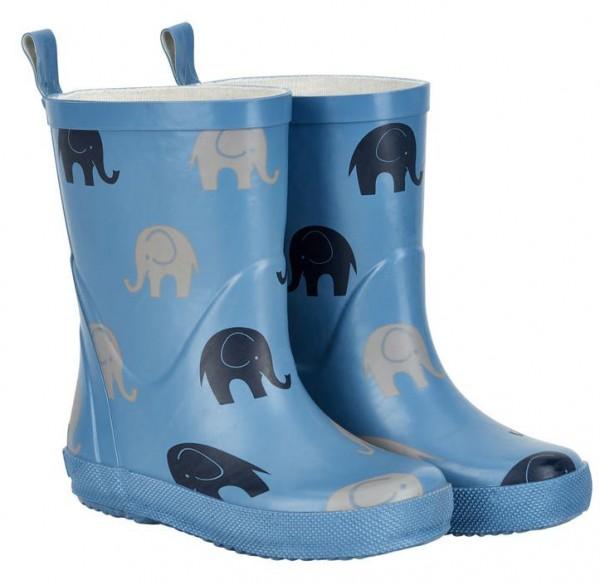 CeLaVi Jungen Gummistiefel blau mit Elefanten