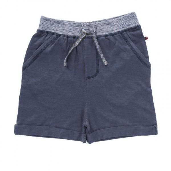 Jersey Shorts grau Slub Jersey Bio-Baumwolle