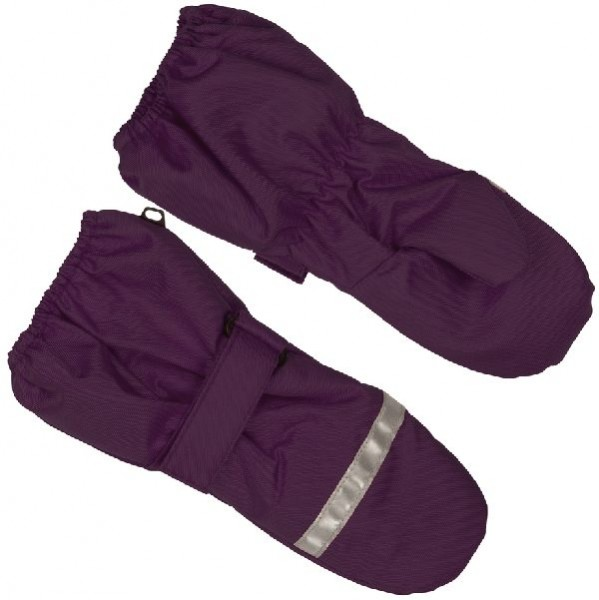 Minymo Mädchen Fausthandschuhe Bing42 purple
