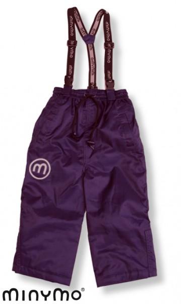 Minymo Vic06 Aura violett Thermo Skihose Matschhose atmungsaktiv