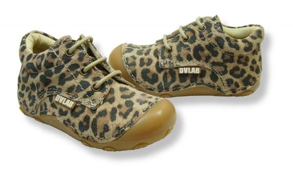 Develab Walki Leopard Lauflernschuhe Leder extra weich