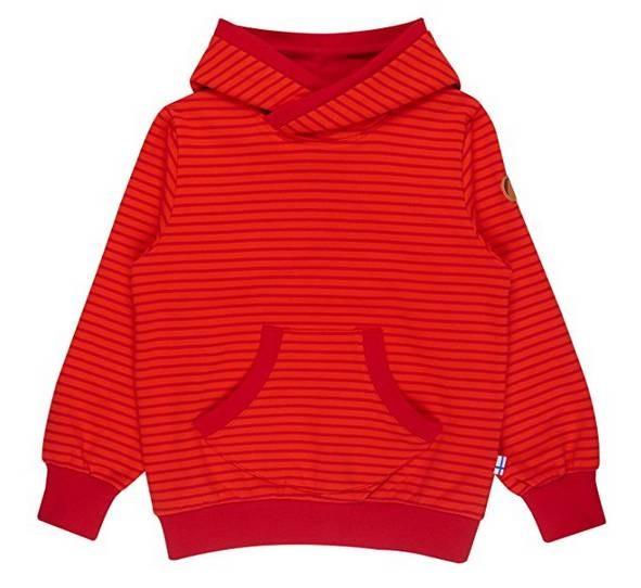 Finkid JUTTU grenadine/red Hoodie Kapuzenpulli Sweatshirt mit Kapuze