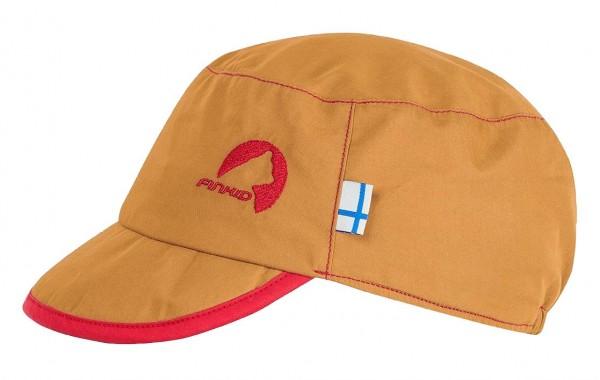 Finkid MIKKE Sommer Cap harvestgold/red mit UV Schutz