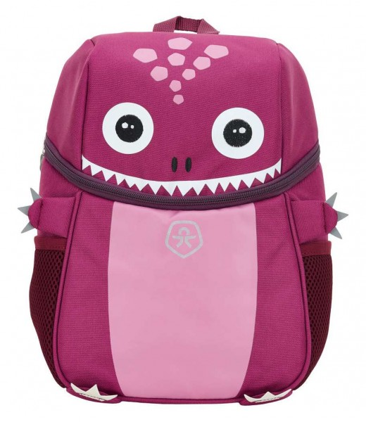 Color Kids Mädchen Rucksack KICO pink mit Monster