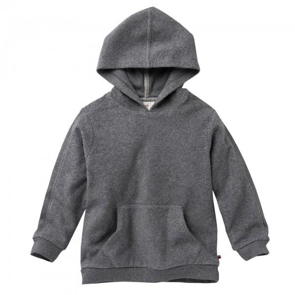 People wear Organic Sweat Pullover Hoodie grau