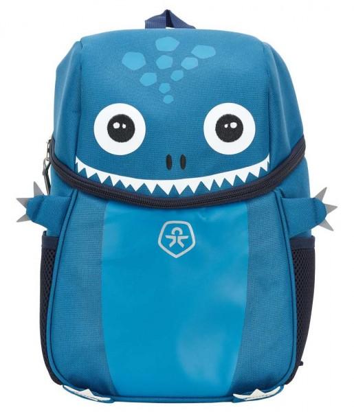Color Kids Rucksack KICO blau mit Monster