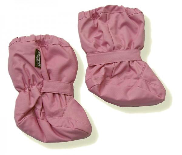 Minymo Nylon Thermo Booties Fall45 rosa gefütterte Stiefelchen Footies
