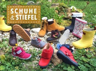 Robuste Outdoor-Schuhe und Stiefel für den Tag im Wald