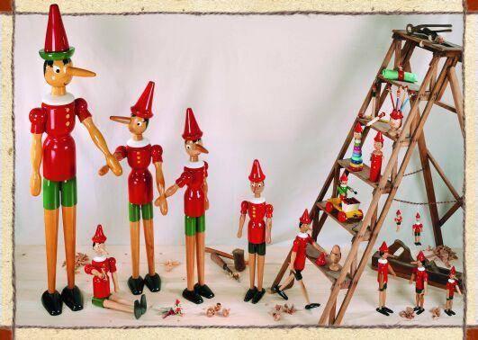 Pinocchio Figuren