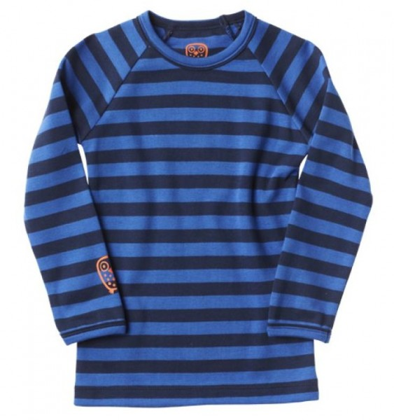 Ej sikke lej Kinder Langarmshirt Basic striped blue