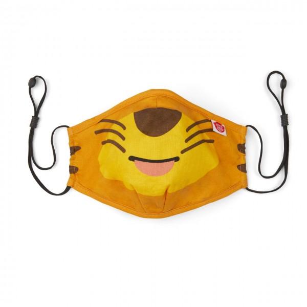 Affenzahn Kinder Mund Nasen Maske Tiger aus Bio Baumwolle