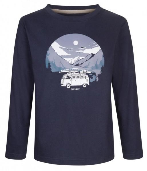 Elkline LOFOTEN VW Langarmshirt blue shadow