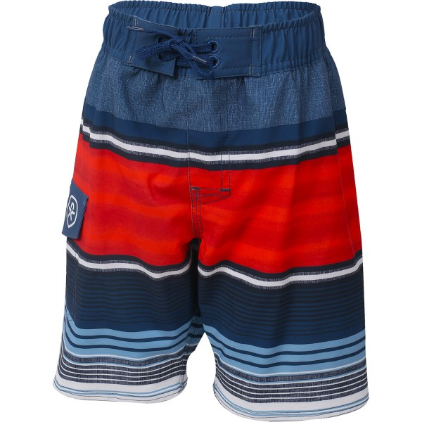 Color Kids ESKE Beach Shorts Kinder Bermuda blau/rot