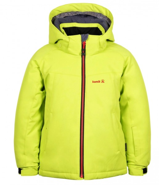 Kamik BENJI Lemon leaf Kinder Winterjacke wasserdicht