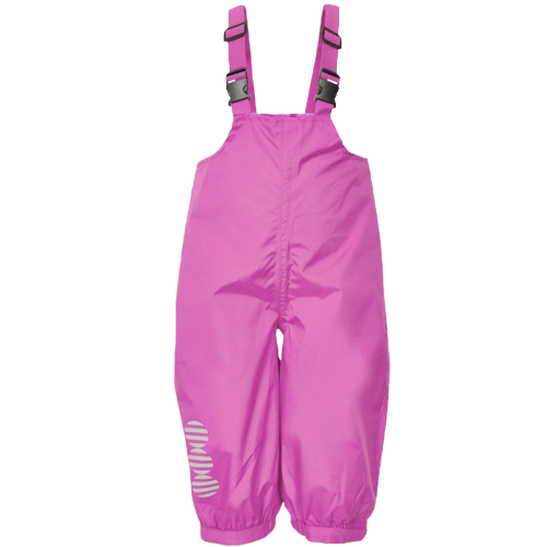 Minymo Mädchen Regenhose pink atmungsaktiv