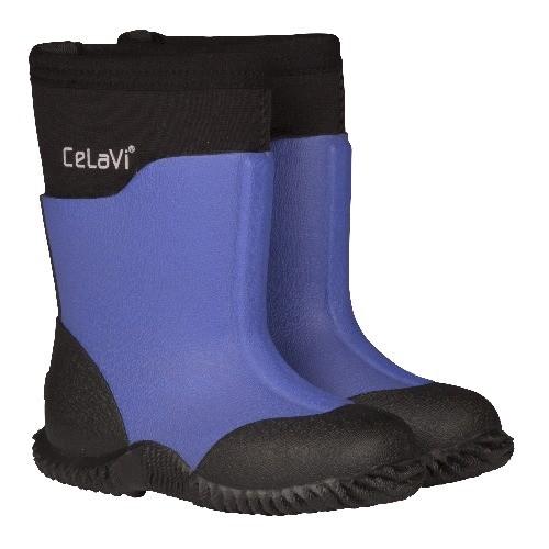 CeLaVi violet storm solid Neopren Gummistiefel Boots