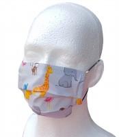 Kinder Mund-Nasen-Maske ZOOTIERE Gesichtsmaske