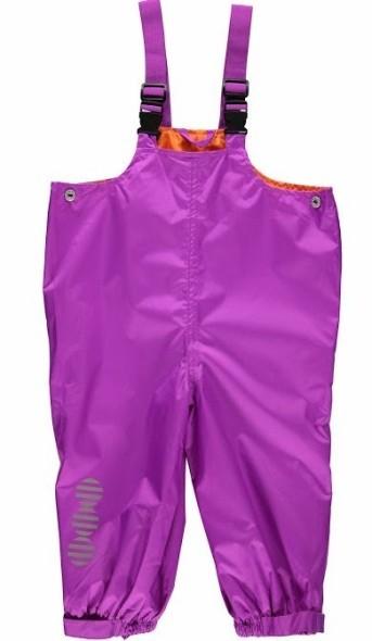 Minymo Mädchen Regenhose purple atmungsaktiv Raven08
