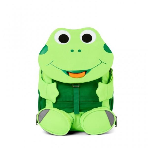 Affenzahn Kindergarten Rucksack Frosch Großer Freund apfelgrün
