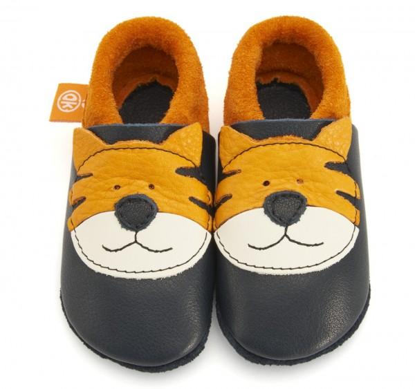 Pololo & Orangenkinder Hausschuhe Tiger Tom