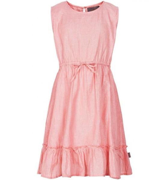 Creamie Mädchen Sommerkleid rosa mit Silberstreifen