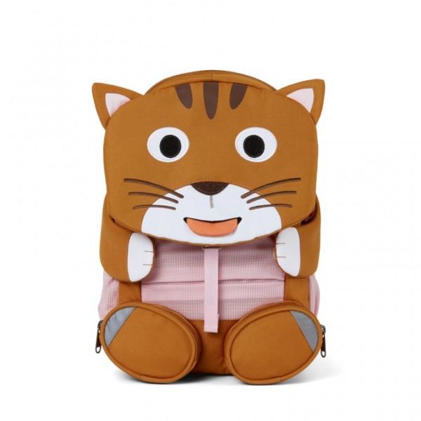Affenzahn Kindergarten Rucksack Katze Großer Freund braun