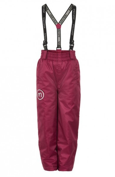 Minymo Skihose Le91 red plum Thermo Schneehose atmungsaktiv