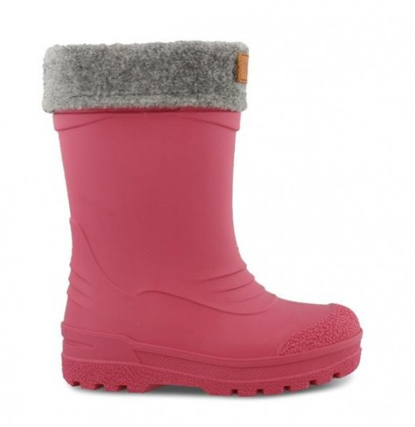 Kavat GIMO cerise pink Winter Thermo Gummistiefel mit Wollfutter