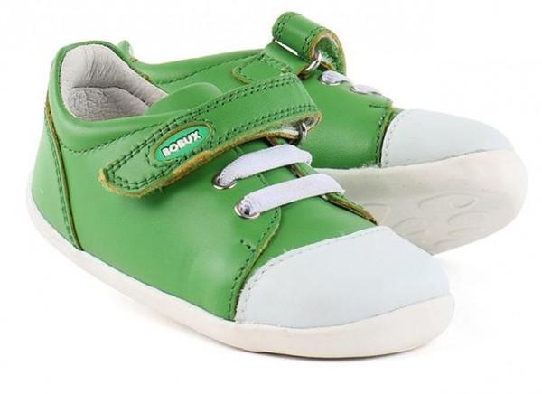 Bobux Step Up Lauflernschuhe Scribble grün /weiß