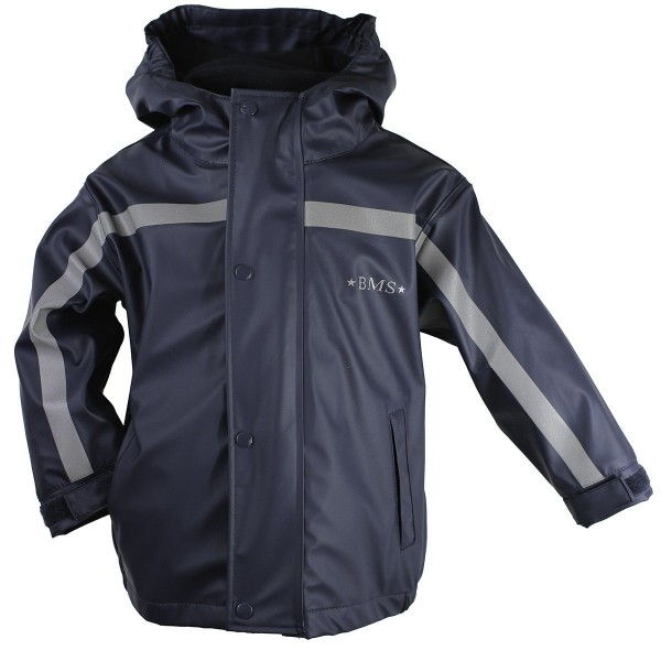 BMS Thermo Regenjacke marine mit Zip-In Fleecejacke 2in1