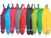 BMS Softskin Buddelhose Matschhose Regenhose mit Trägern