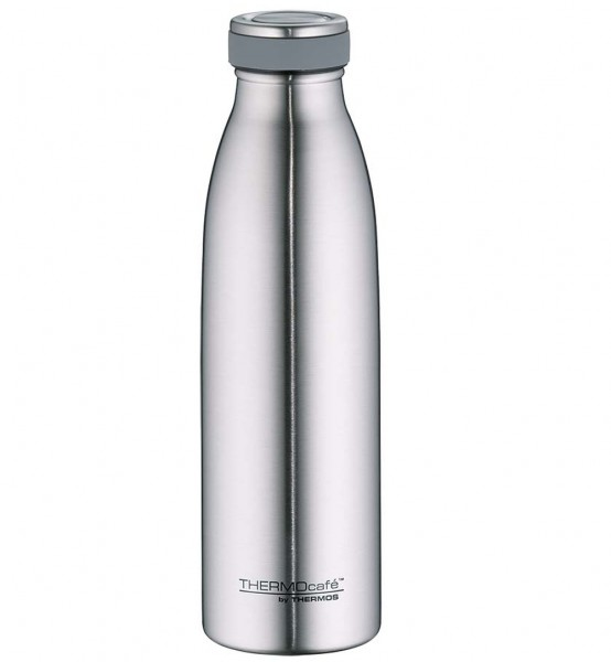 Thermos Isolier-Trinkflasche TC Bottle Edelstahl silber matt 0,5L