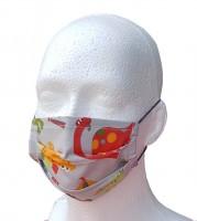 Kinder Mund- und Nasen-Maske DINO Community Mask