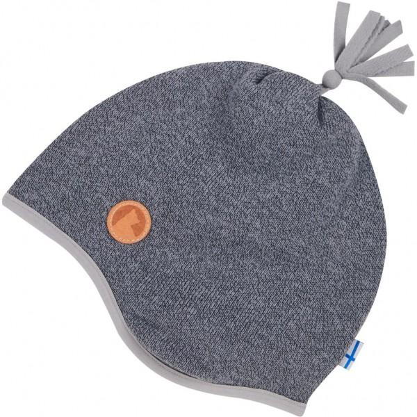 Finkid TIPU Knit storm grau Kinder Strickfleece Wintermütze