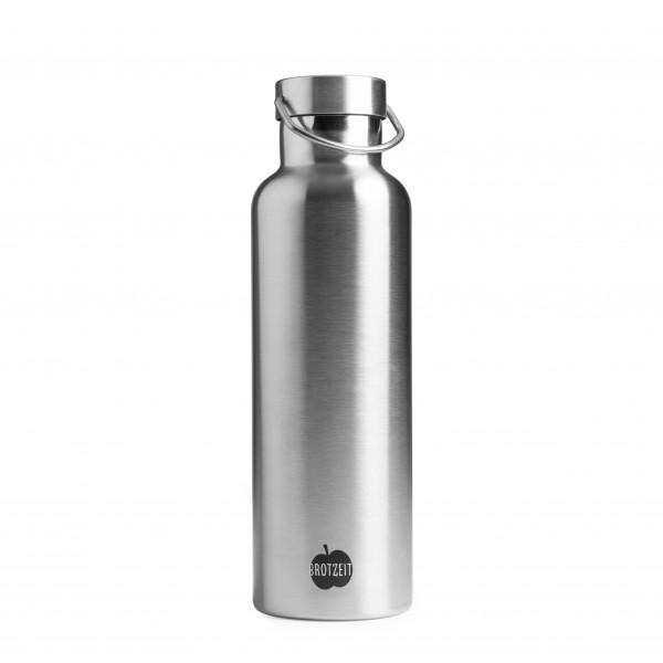 Brotzeit Trinkflasche Edelstahl 0,75L