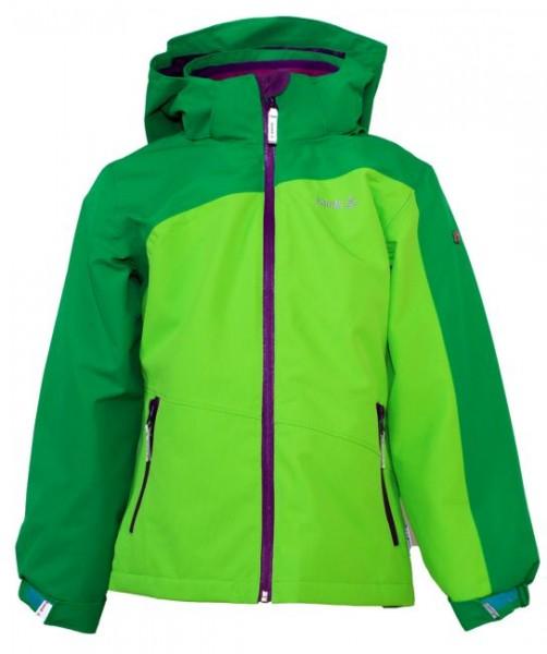 KAMIK Regenjacke Zip-In System Outdoorjacke lime / grün / violett