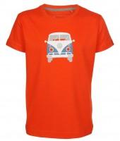 Elkline teeins Kinder T-Shirt cherrytomato mit VW Bulli Motiv