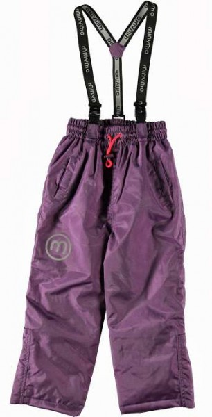 Minymo Now09 Grape Jam violett Thermo Skihose Schneehose atmungsaktiv