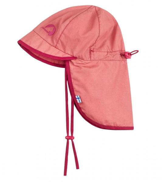 Finkid RANTALI Mädchen Sommerhut rose/raspberry mit Nackenschutz