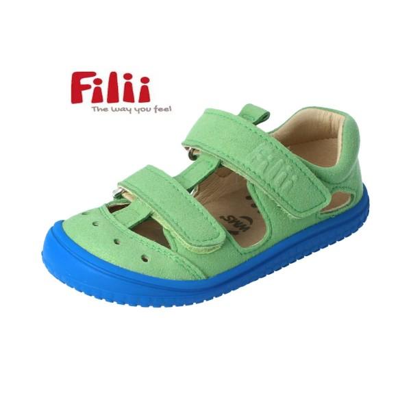 Filii KAIIMAN Sandalen grün/blau Barfußsandalen vegan