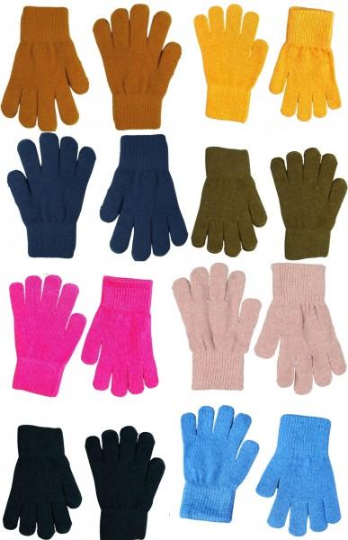 Celavi Kinder Handschuhe Wolle 2 Paar im Set Fingerhandschuhe Magic